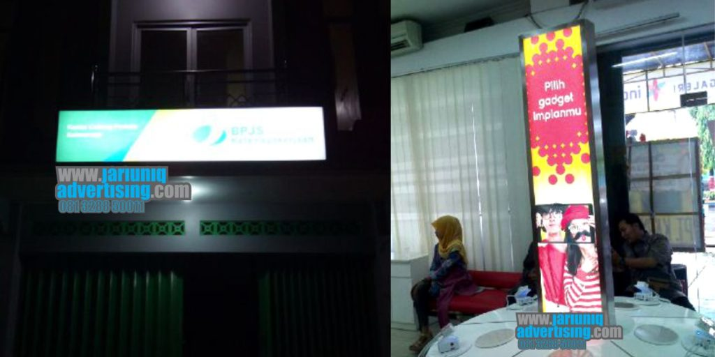 Jasa Advertising di Kudus neon box di kudus
